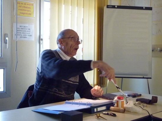 Claude Gérard Sarrazin : formateur et conférencier