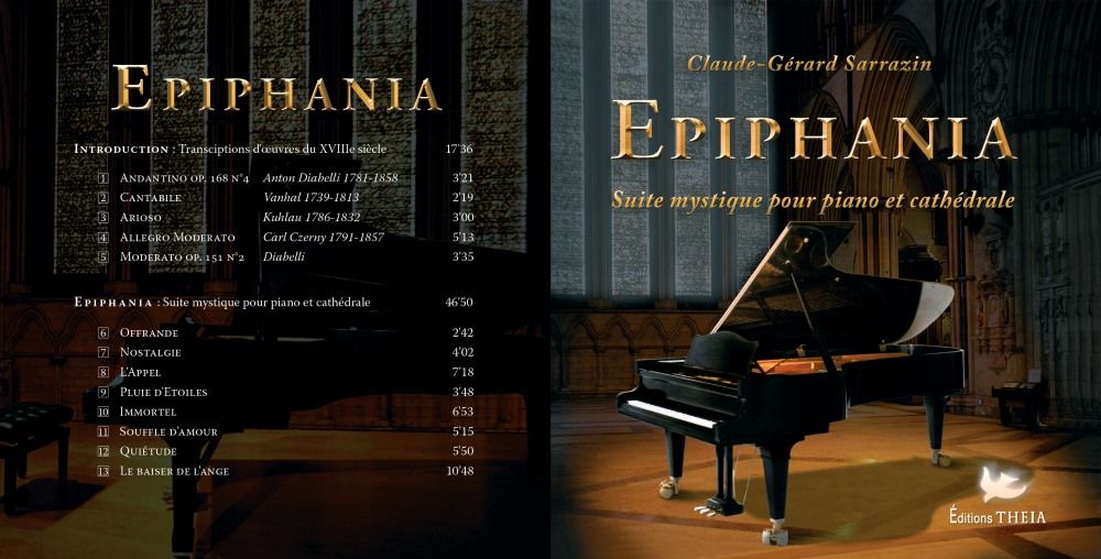 Jacquette du CD Epiphania